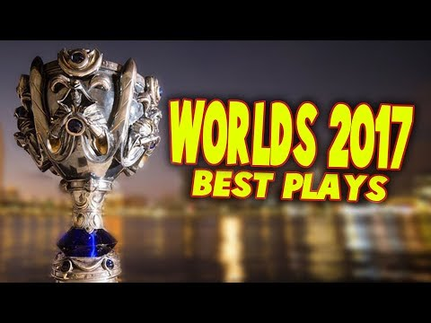 WORLDS 2017 ~ BEST PLAYS (part 01) | #LeagueOfLegends
