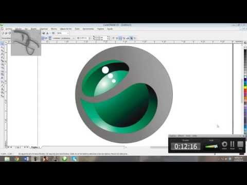Como hacer el Logo de Sony Ericsson en Corel Draw X3