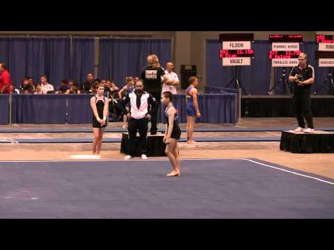 Jonathan JO Nationals 2012 Floor Level 9