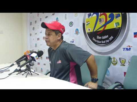 Sultan Azlan Shah Cup 2016: Day 6: Malaysia Post Match Press Con