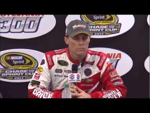 NASCAR Video Kevin Harvick 3rd Slyvania 300 at NHMS