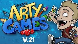 JAZZA'S ARTY GAMES: V.2 - ALL NEW!!