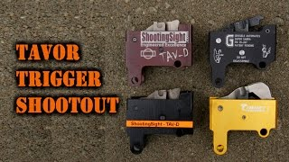 Tavor Trigger Shootout: Geissele, Shooting Sight, Timney, & Factory