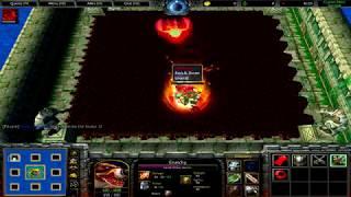 Warcraft 3 | Custom Hero Survival v2.6c | NO SKILLS | BEST GAME EVER | 21 MINUTES Battle Royale