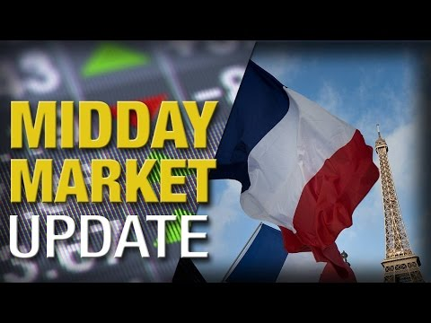 Stocks Mixed in Choppy Trading After Paris Attacks, Negative Factory Data