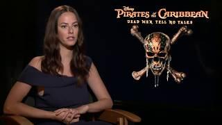 Pirates of the Caribbean 5 Interview - Kaya Scodelario