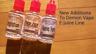 Demon Vape: New Gourmet Flavors