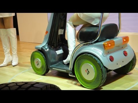 Bridgestone Air-Free Concept Tyres #DigInfo