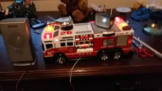 Road Rippers 2014 rush and rescue pumper truck with speaker modification