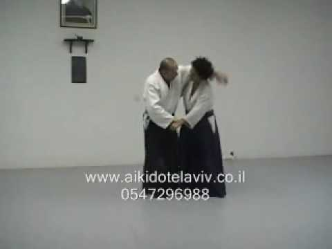 Aikido grappling- how to escape a side choke (In English) Image 1