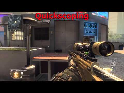 Black Ops 2 Tips: How to Quickscope In Black Ops 2!