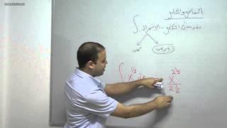 رياضيات--تفاضل وتكامل10-مقدمة في التكامل-احمد عمري