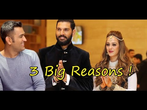 Why Dhoni won't attend Yuvraj - Hezel Marriage : 3 Big Reasons ! thumbnail