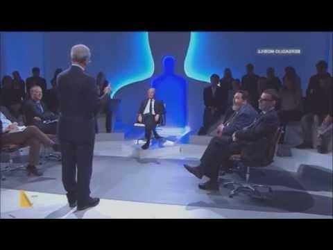 Ferrara confonde e insulta Mentana poi se la ride (YTP)