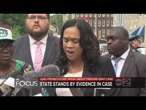 Lead prosecutors speak out on Freddie Gray case