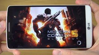 Modern Combat 5 LG G3 4K Gaming Review