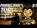 Bendy And The Ink Machine Chapter 2 In Minecraft Updated Part 1 Map Showcase mp3