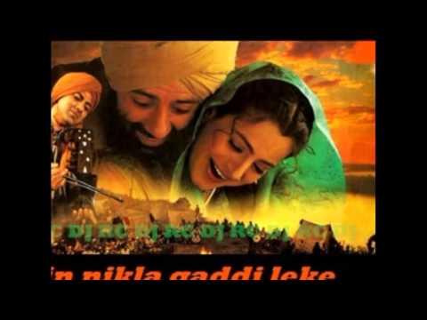 Main Nikla Gaddi Leke   Gadar Ek Prem Katha Remix By DJ RC Nayab...