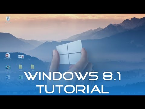 Windows 8.1 Tutorial (Deutsch/German) | Windows 8 (Operating System)
