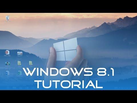 Windows 8.1 Tutorial (Deutsch/German) | Windows 8 (Operating System)