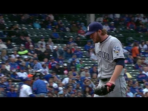 SD@CHC: Maurer gets out of trouble in the 8th inning