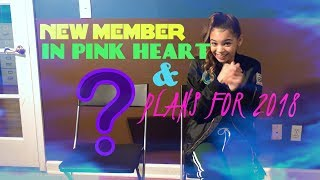 INTRODUCING THE NEW MEMBER OF PINK HEART! PLUS PLANS FOR 2018!