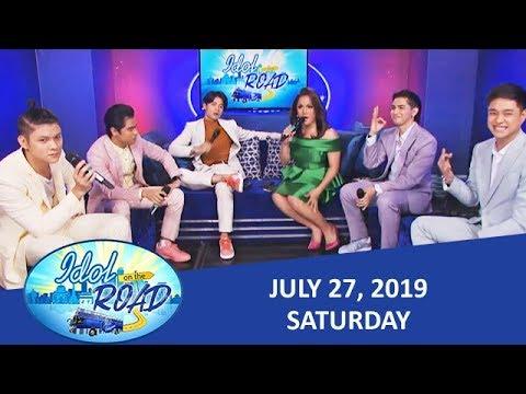 Idol On The Road with KaladKaren and BoybandPH | July 27, 2019