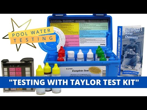 Pool Water Chemical Testing