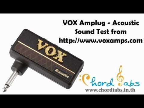 VOX Amplug Acoustic Sound Test