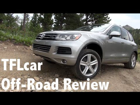 2014 Volkswagen Touareg Hybrid Colorado Off-Road Review: Green & Off-Road Mean?
