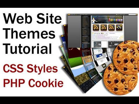 0 Website Design Theme Application Tutorial Using PHP Cookies to Change CSS Style Sheets