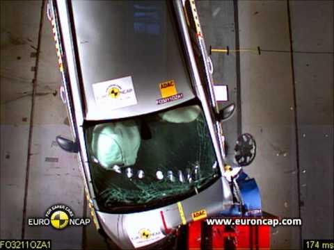 Euro NCAP | Opel/Vauxhall Zafira Tourer | 2011 | Краш-тест