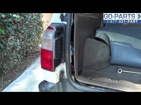 Replace 1996-2002 Toyota 4Runner Tail Light / Bulb. How to Change Install 1997 1998 1999 2000 2001