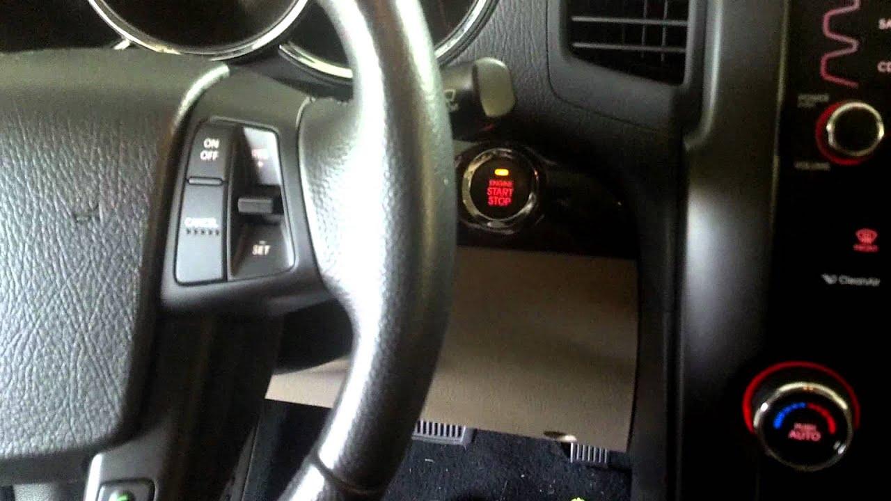 2011 kia sorento no start wont start push button