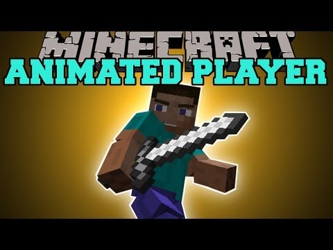 Minecraft: ANIMATED PLAYER (EPIC ANIMATIONS FOR EVERYTHING!) Mod Showcase