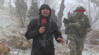 Komandolar, eksi 5 derecede terör operasyonunda