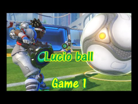 Overwatch olympic update: lucio ball | play of the game | goalie #1