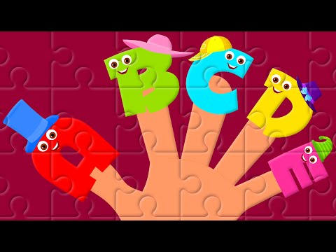 Finger Family Alphabets | Alphabets Nursery rhyme |  Kids Tv Nursery Rhymes