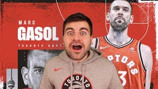 Raptors Fan REACTS To Trade For Marc Gasol!