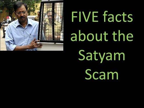 reasons behind satyam scam