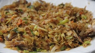 Kottu Recipe. How to Make Kottu at Home. DIY CAM.