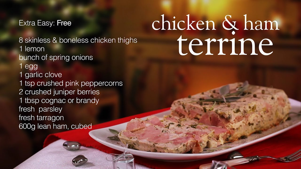 Slimming world chicken and ham terrine recipe video youtube Slimming world slimming world