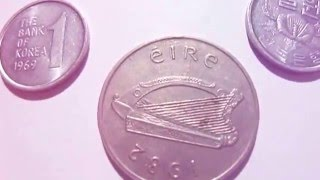 View My Korea and Eire Coins