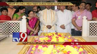 Telangana CM KCR visits Shirdi with family