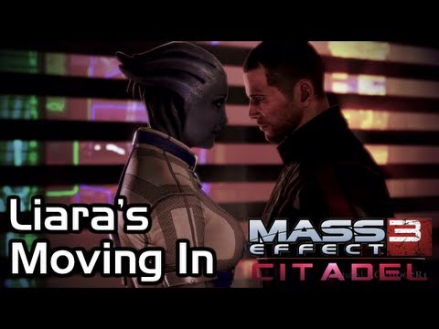 Mass Effect 3 - Citadel DLC - Invite Liara up to Apartment (Liara's Piano Song)