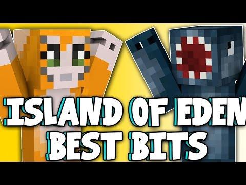Minecraft - Island Of Eden - BEST BITS MONTAGE!