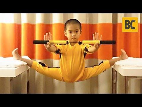 Ryusei Imai com 6 anos é a reencarnação do Bruce Lee
