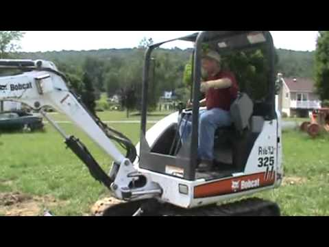 2005 Bobcat 325 G Series Mini Excavator Rubber Track Backhoe For Sale Mark Supply Co