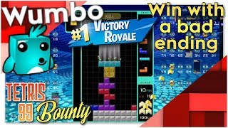 """Tetris 99 Bounty - """"Win with a bad end"""""""