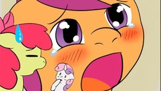MY LITTLE PONY COMIC DUBS WE CANT DO THAT!